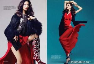 Tian Yi для Elle Vietnam февраль 2012