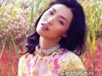 Tian Yi для Vogue China январь 2012