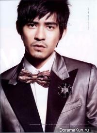 Vic Zhou для Esquire April 2010