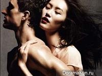 Liu Wen,Ming Xi и Sui He для Vogue China май 2012