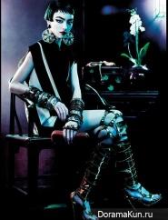 Sui He,Fei Fei Sun и др. для Vogue UK март 2013