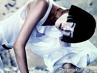 Wang Xiao для Elle UK March 2013