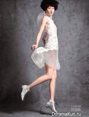 Wang Xiao для Harpers Bazaar Singapore март 2012