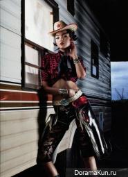 Xiao Wen Ju для Numéro Китай июнь-июль 2012