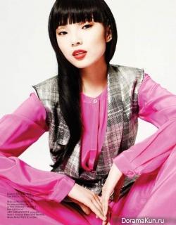 Xiao Wen Ju для Glass Spring 2013