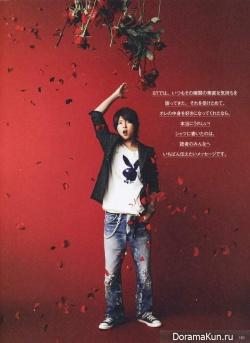 Yamashita Tomohisa для Seventeen Vol. 100 July 2013