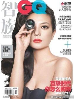 Zhao Wei для GQ China April 2013