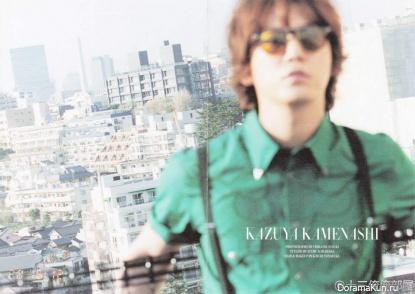 Kamenashi Kazuya (KAT-TUN) для BARFOUT VOL. 213 JUNE 2013