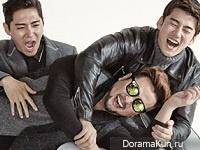 g.o.d для Cosmopolitan September 2014