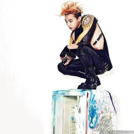 G-Dragon предстал
