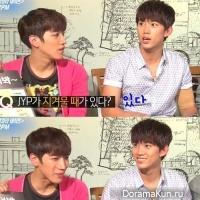 2PM раздражает 'шепот JYP'?