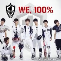 100% выпустили краткий видео обзор своего будущего альбома Real 100%