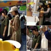 Бёль и Сан из Wonder Girls замечены на совместном шоппинге