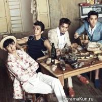 Посмотрите как проходила фотосессия 2PM для 'Vogue Korea'