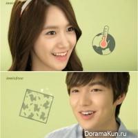 ЮнА и Ли Мин Хо - 'рекламная парочка' для Innisfree