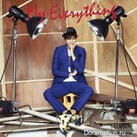 Ли Мин Хо представил обложку альбома My Everything