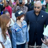 Поклонники возмущены плохим обращением Криса Брауна по отношению к T-ara N4 в США