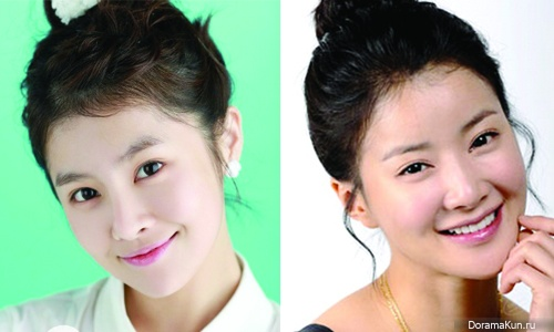 Борам из T-ara и Ли Ши Ён