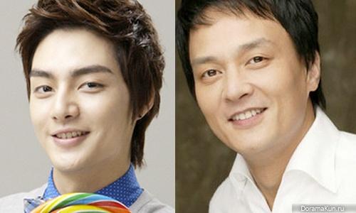 Ким Чжун из T-Max и Чо Мин Ки