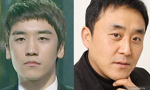 Сынри из Big Bang и Чхве Мин Сик