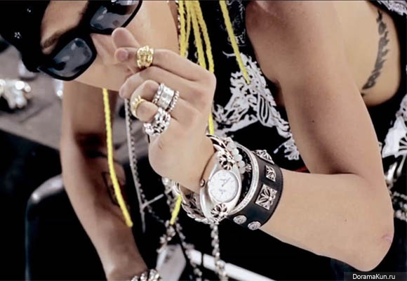 G-Dragon Chrom Hearts