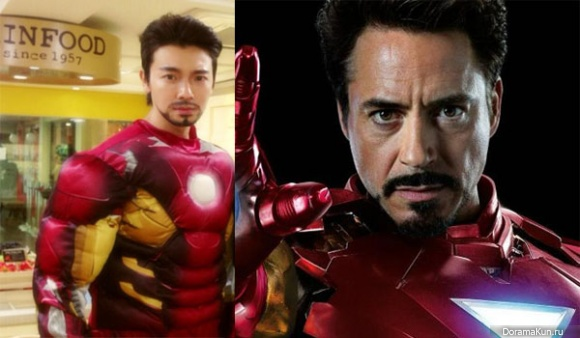 Donghae-Iron-Man