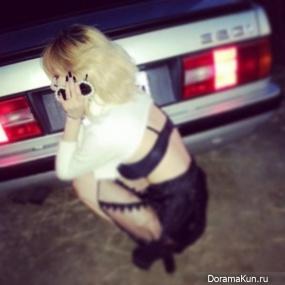 HyunA-trouble-maker