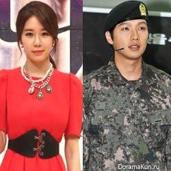 Ю Ин На подтвердила, что все еще встречается с Чжи Хён У