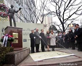 Площадь Пушкина в Сеуле