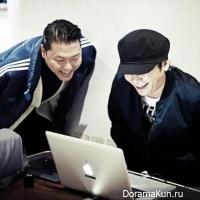 Psy и Ян Хён Сок