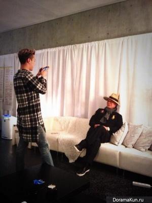 G-Dragon и его отец