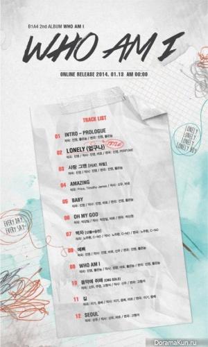 Трек-лист нового альбома B1A4