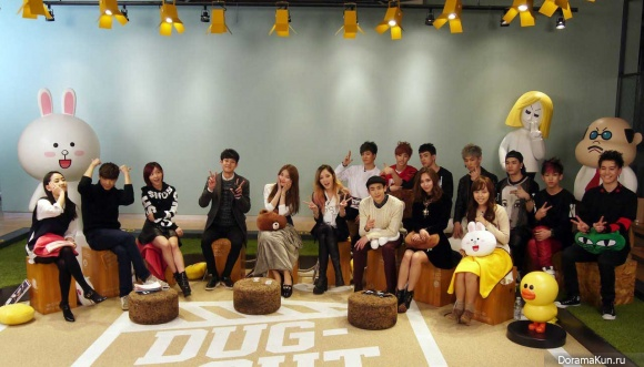 Артисты JYP