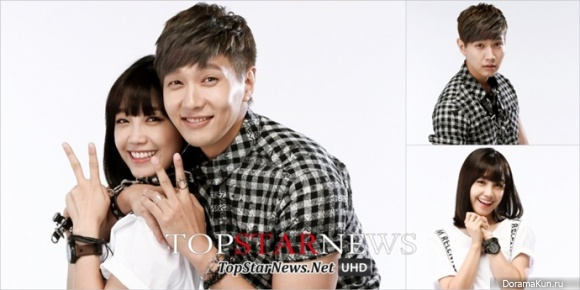 Ji Hyun Woo and Jung Eun Ji