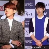Ли Джун из MBLAQ и ЁнХва из CNBLUE