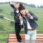 Kim Young Kwang and Kyung Soo Jin