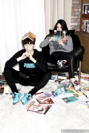 Кристалл и Ан Джэ Хён