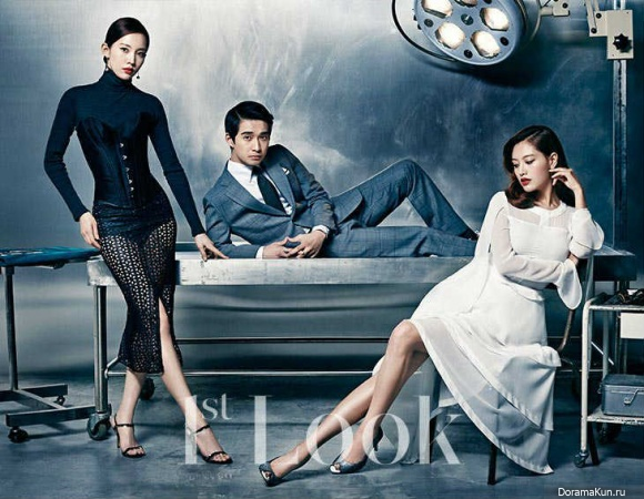 Jae Kyung, Ryu Deok Hwan и Yoon Joo Hee