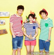 Park Seo Joon, Kim So Hyun, Lee Hyun Woo