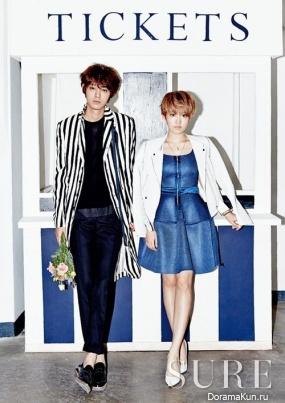 Jung Joonyoung and Younha