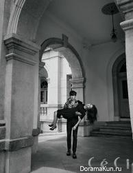 Kang Ha Neul and Kim So Eun