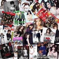 Любимые знаменитости на страницах модных журналов