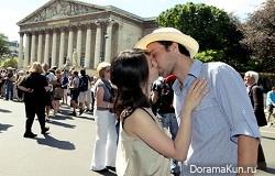 Проект 100 поцелуев в Париже