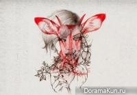Необычные минималистичные портреты Peony Yip