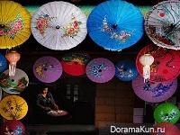 Таиланд - зонтики из бамбука. Фото