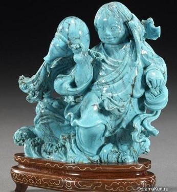 Линь Ли - китайская резная скульптура. Фото