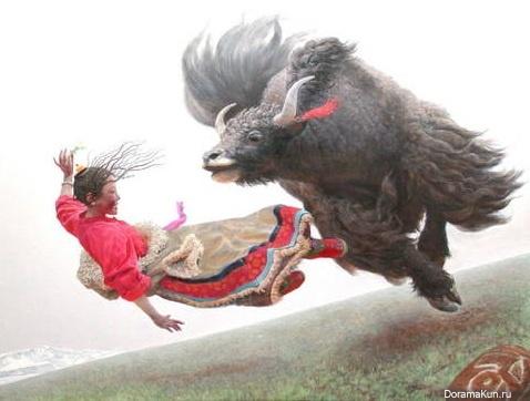 Wang Yi Guang китайский художник. Фото