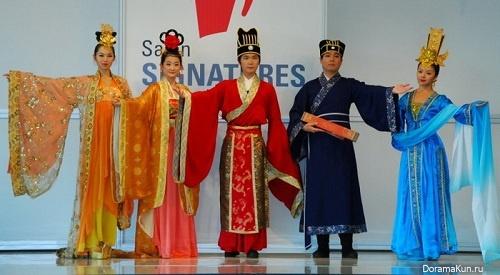 Очарование Древнего Китая: показ ханьской моды в Оттаве