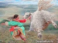 Wang Yi Guang - один из самых интересных и динамично развивающихся китайских художников