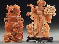 Линь Ли - китайская резная скульптура